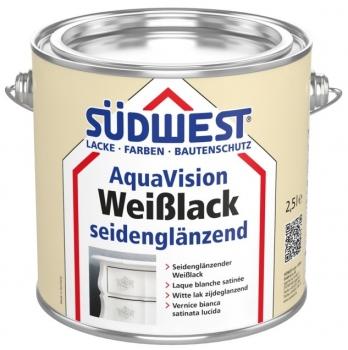SÜDWEST AquaVision Weißlack seidenglänzend