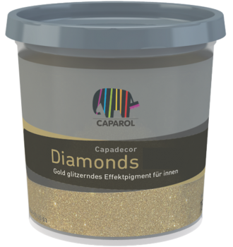 Caparol Capadecor Diamonds Gold / Silber