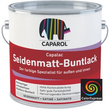 Caparol Capalac Seidenmatt-Buntlack RAL 5010 125 ml