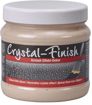 PUFAS Crystal Finish Kristall Effekt Decor Creme 750 ml