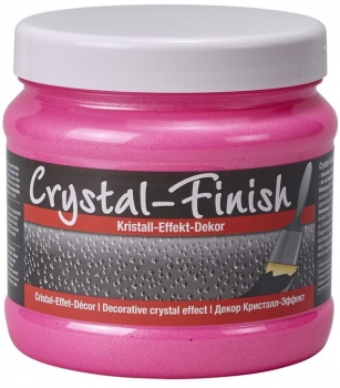 PUFAS Crystal Finish Kristall Effekt Decor Neon Pink 750 ml