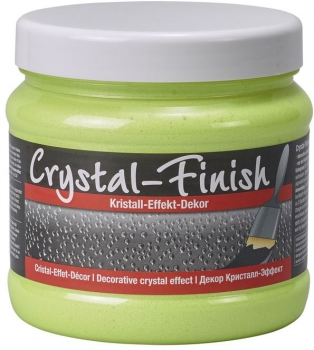 PUFAS Crystal Finish Kristall Effekt Decor Neon Yellow 750 ml