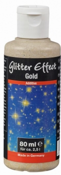 PUFAS Glitter Effect Gold  80 ml