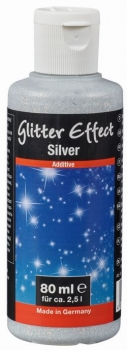 PUFAS Glitter Effect Silver  80 ml