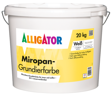 ALLIGATOR MIROPAN Grundierfarbe 20 Kg