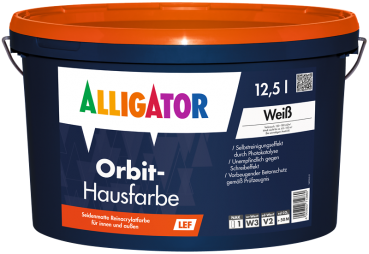 ALLIGATOR Orbit Hausfarbe LEF weiß 12.5 L